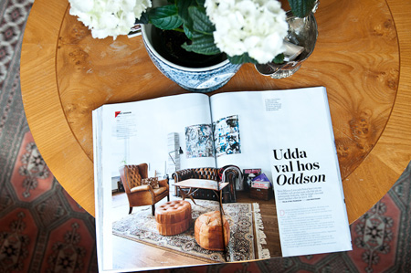 Exciting interior article in the latest Plaza interiör.